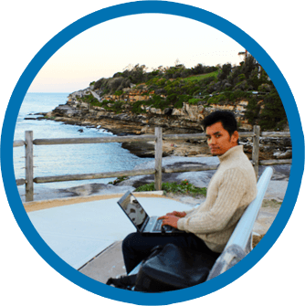 Freelance web developer in Sydney  Hem Thapa